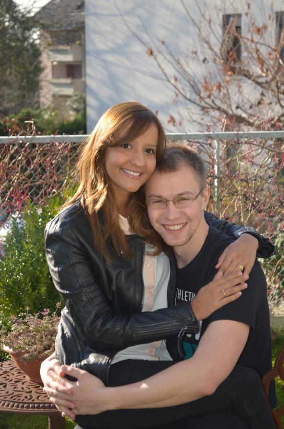 Fernanda e seu marido