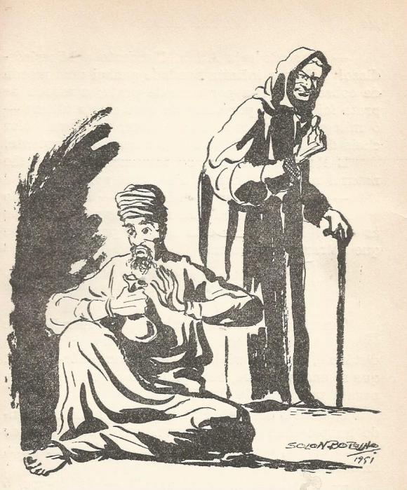 O mendigo e a velha